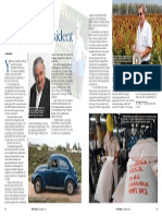 Rice Today Vol. 12, No. 3 Rice Today Uruguay's president