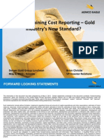 Total Cost of Gold 28 June 2013