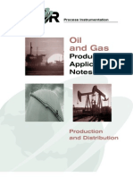 Oil & Gas Product Application Notes