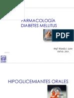 Fármacos hipoglicemiantes med 2013