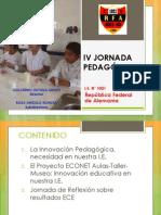 IV Jornada Pedagogica Ie 1021 Rfa