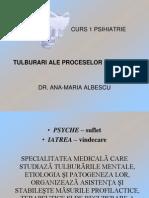 Curs 1 Psihiatrie