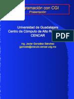 Programación con CGI | UDG 1999