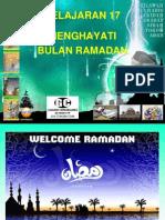 Menghayati Bulan Ramadhan