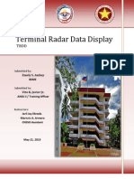 Terminal Radar Data Display