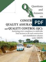 QS/QC questions