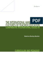 International Handbook of Cultures of Teacher Education(1)