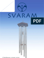 SVARAM Musical Instruments & Research - Product Catalogue 2009-2010