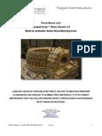Pompeii Oven Plans
