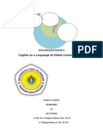 English as a Language of Global Communication