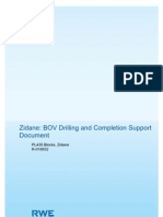 Zidane BOV - Drilling and Completion Support Document Rev01