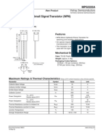 Datasheet MPS2222A