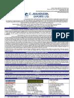 C. Mahendra Exports Ltd.