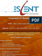 SAP EP ADMIN Online Training and Placement