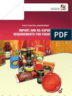 Import+and+Re Export+Requirements+for+Foodstuff+Eng