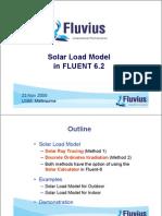 UGM05 Solar Load Model