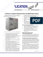 16 Reason to Change to Static Exciter