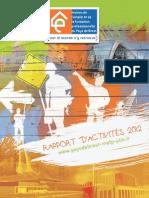 Rapport d'activités 2012 - MEFP du Pays de Brest