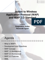 Introduction to Wireless Application Protocol (WAP)OGI