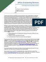 Microsoft Word - eLearning Focus Groups So Memo 5 7