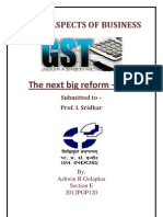 GST- The next Big Reform