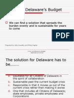Alternate Budget Proposal