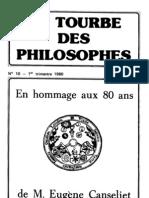 [Alchimie] a Poisson La Tourbe Des Philosophes 10 (Revue)