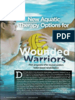Therapy Acuatic Wonded Warrios