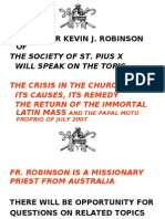 the crisis in the catholic church today copy