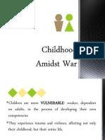 Child Fonts Childhood Amidst War_GS197