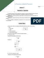 Cálculo Financiero y Gestión Financiera