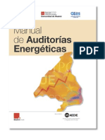 Manual de auditorías energéticas