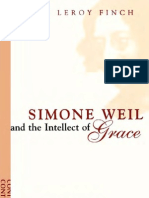 Simone Weil and the Intellect of Grace - Henry Leroy Finch