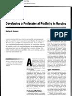 Develoving Profesional