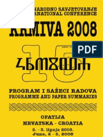 15 Th Veterinary International Conference KRMIVA 2008 Programme and Summaries