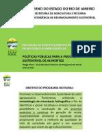 Helga Hissa, coordenadora técnica do programa Rio Rural - Políticas públicas para a produção sustentável de alimentos no Rio de Janeiro