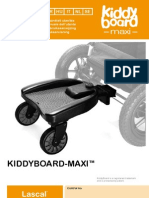 KiddyBoard Owner manual, multi-language