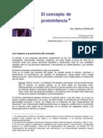 El concepto de protoinfancia- Myrtha Chokler..pdf