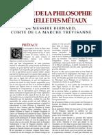 [Alchimie] Le TreVisan - Le Livre de La Philosophie Naturelle Des MeTaux