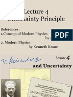 Quantum Mechanics:Uncertainty Principle