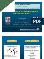 Lo Stress Ossidativo Nel Cavallo Atleta