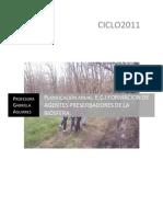 Planificación anual E.C.I FORMACIÓN DE AGENTES ´PRESERVADORES DE LA BIOSFERA 2010 (Autoguardado)