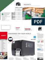 Toshiba TEC B-EX4T1 Industrial Printer Brochure