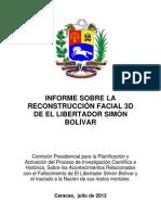 Informe Sobre La Reconstruccion Facial 3D de El Libertador