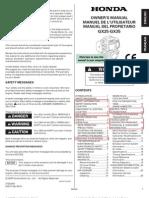 Manual Honda GX34 en Español