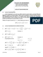 Laplace Transformation