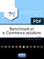 The benchmark of e-Commerce solutions