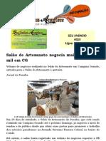 Salão de Artesanato negocia mais de R$ 900 mil em CG