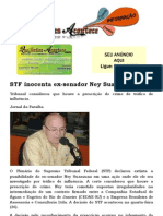STF Inocenta Ex-senador Ney Suassuna