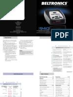 Bel v940 Manual